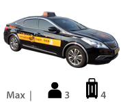 Luxury Taxi Max 3, luggage 4