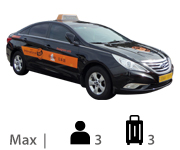 Medium Taxi Max 3, luggage 3