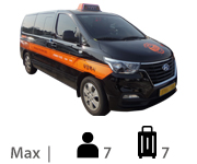 Van Max 7, luggage 7
